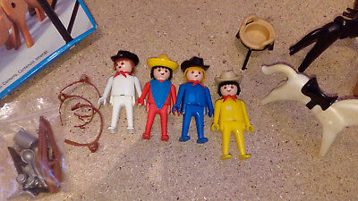PLAYMOBIL WESTERN B4134 Klicky Mexicain /& Cheval Vintage 3484 Mains Fixes