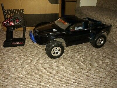 TRAXXAS 1/10 SLASH 4x4 Brushless VXL RPM upgrades big bore shocks w/Lipo  used
