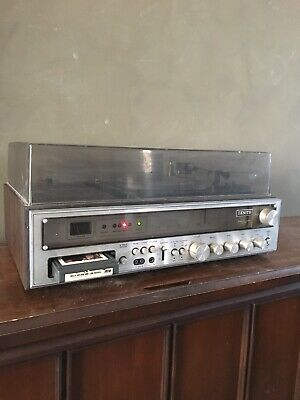 Vintage Zenith Integrated Stereo IS- 4021 Turntable AM/FM 8-Track Recorder