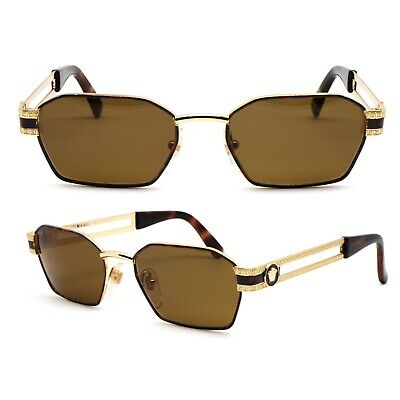 Occhiali Gianni Versace S69 Vintage Sunglasses New Old Stock 1980's