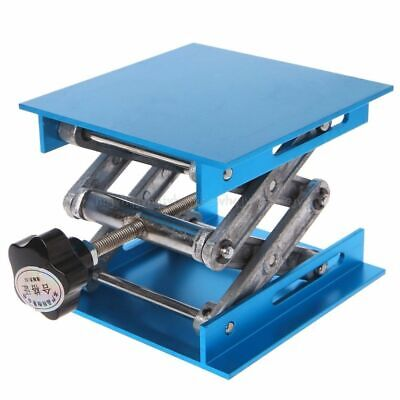"Lift Table Woodworking Engraving Lab Lifting Stand Rack 4""x4"" Aluminum Router"