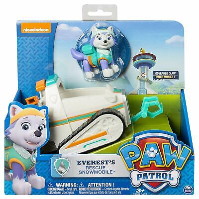 Paw Patrol Everest's Rescue Snowmobile Vehicle and Figure
