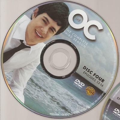 The OC The O.C. (DVD) Third Season 3 Disc 4 Replacement Disc U.S. Issue!