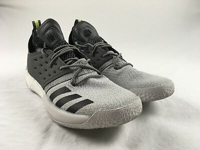 huge selection of 6d545 60a9c adidas Harden Vol. 2 - Gray Basketball Shoes (Men s 15) - Used