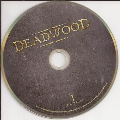 Deadwood (DVD) HBO Third Season 3 Disc 1 Replacement Disc U.S. Issue Disc Only!