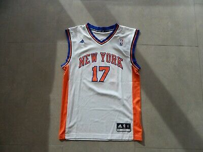 5e95e09cc ADIDAS JEREMY LIN  17 New York Knicks Jersey - White - Small -  8.00 ...