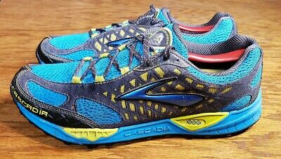 3a42e751d2144 BROOKS CASCADIA 7 Athletic Trail Hiking Running Shoes Mens 12.5 ...