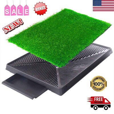 Pet Potty Trainer Puppy Grass Training Toilet Trainer Dog Pee Restroom Mat Patch