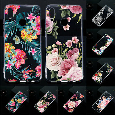 For Huawei P Smart 2019/P Smar+ Shockproof Soft Silicone Painted TPU Case Cover