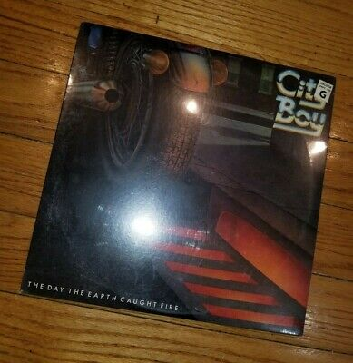 Sealed CITY BOY The Day The Earth Caught Fire LP Original 1979 Atlantic SD 19249