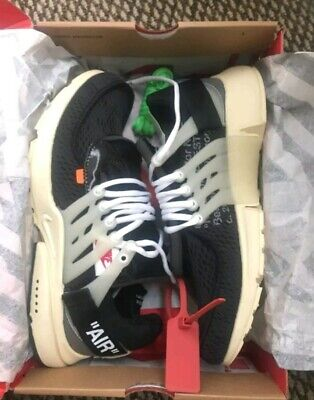 cc2e8455a9bf OG ALL NIKE OFF WHITE X AIR PRESTO  The Ten  Mens Size 10 AUTHENTICATED