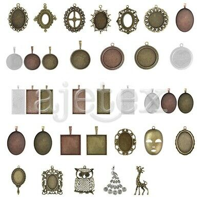 1-15pcs Antique Brass Pendant Top Quality Supplies Jewellery Making