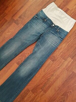 JEANSWEST Slim Bootcut Over Bump Maternity Jeans sz 10
