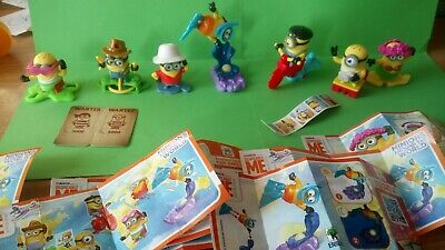 Choose your Minions around the world Kinder egg toy Minion ! cowboy hula french