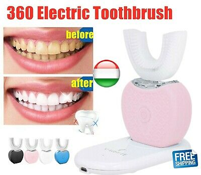2019 Automatic Ultrasonic Electric Toothbrush Whitening Cleaning Teeth Brush EF