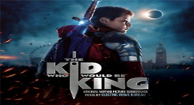 The Kid Who Would Be King SOUNDTRACK Electric Wave Bureau CD ALBUM NEW(1STMAR)