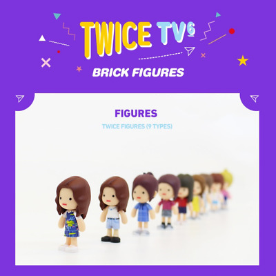 TWICE TV6 BRICK FIGURES JYP Entertainment Official Merchandise + Tracking number