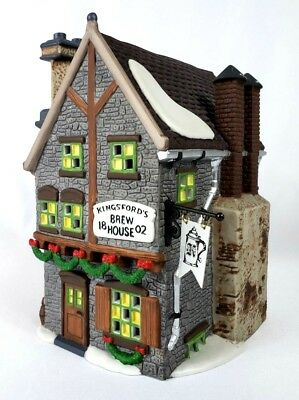"Department 56 ""Kingsford's Brew House"" Dickens' Village Series #58114 MIB"