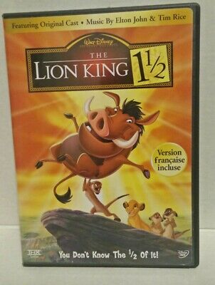The Lion King 1 1/2 (DVD, 2004, 2-Disc Set, Limited Edition) Authentic Disney
