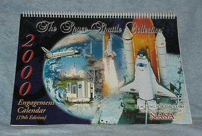 NASA 2000 Space Shuttle Collection Engagement Calendar 19th Nineteenth Edition