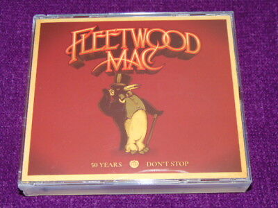 "Fleetwood Mac  ""50Years   Don't Stop ""  3 CD  SET   NEW"