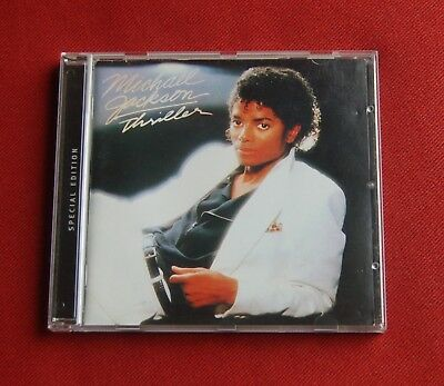 Michael Jackson - Thriller - Special Edition - Epic Records CD - 2001