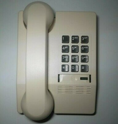 Vintage Almond HARMONY Touch Tone Push Button TELEPHONE By Northern Telecom