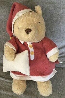 9daf2527919 Walt Disney World Winnie the Pooh Musical Teddy Bear Plush Plays Rock A Bye  Baby