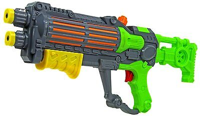Green Water Machine Gun Style Pump Action Water Pistol Stormtrooper Shooter 940