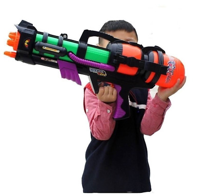 "23"" Giant Water Gun Pump Action 65cm Mega Super Soaker Beach Garden Toy 921"