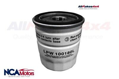 Land Rover Freelander 1 Petrol 1.8L Oil Filter - LPW100180L Allmakes