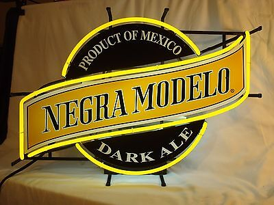 Negra Modelo Beer Sign Neon Light Cerveza Brewery Man Cave - Great Condition!!!
