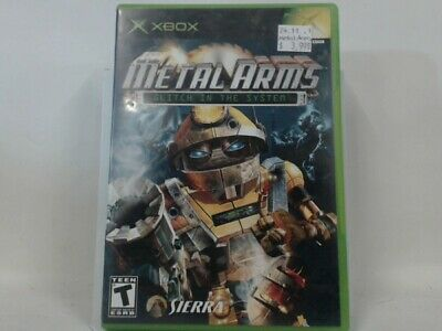 METAL ARMS GLITCH IN THE SYSTEM Xbox Complete CIB Acceptable