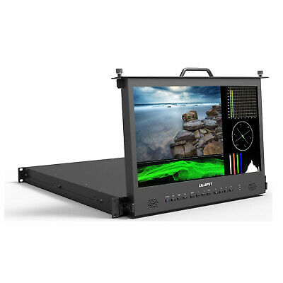 """Lilliput RM-1730S 17.3"""" 1RU FHD Pull-out Rackmount Monitor with Waveform, Vector"""