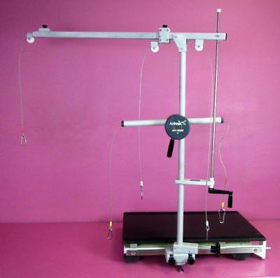 Arthrex AR-1600M Surgical Shoulder Positioner 3 Point Distraction Traction Tower