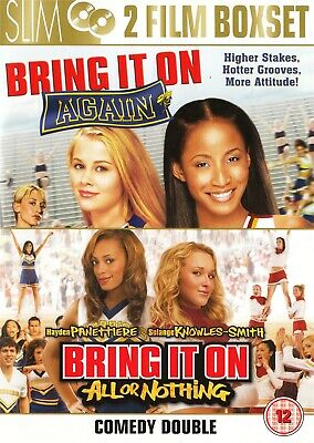 Bring It On Again, Bring It On All or Nothing - NEW Region 2 DVD