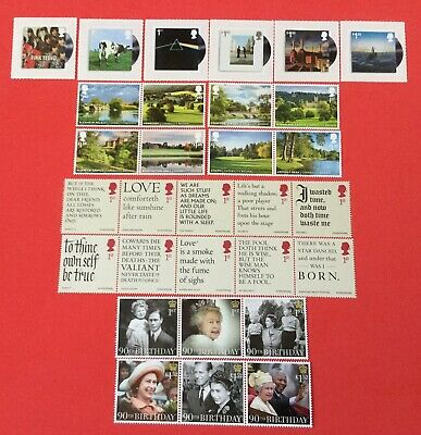 Gb 2016 Individually Priced Sets In Excellent Mnh Condition