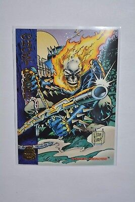 Fleer Marvel Cards Universe 1994 Sammelkarten/ Super Heroes Ghost Rider #137