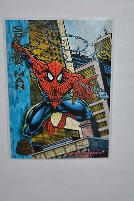 Fleer Marvel Cards Universe 1994 Sammelkarten/ Super Heroes Spider-Man #130