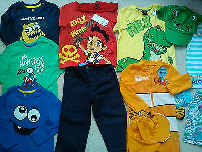 Amazing  New Bundle Outfits  Baby Boy 18/24 Mths Summer Winter(2.5)Nr117