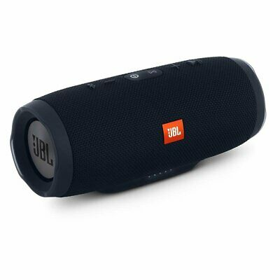 JBL Charge 3 - Waterproof Bluetooth Portable Speaker - Black