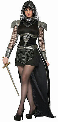 Forum Novelties Women's Sexy Medieval Knights Of Glamour Adult Size M/L 8-12