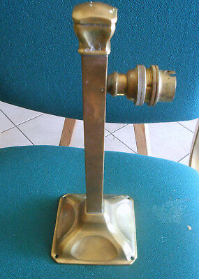Early 20th Century Brass Electric Wall Sconce