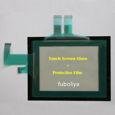 for Omron NS10-TV01B-V2, NS10TV01BV2 Touch Screen Glass + Protective Film New f8