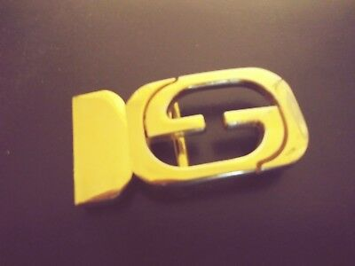 Vintage Authentic Gucci Belt Buckle #3