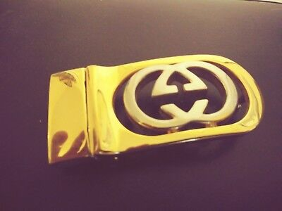 Vintage Authentic Gucci Belt Buckle #2
