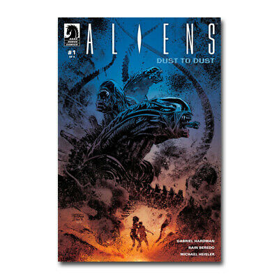 Aliens Hot Movie Silk Poster Canvas Wall Art Print Living Room Decor 24x36 inch