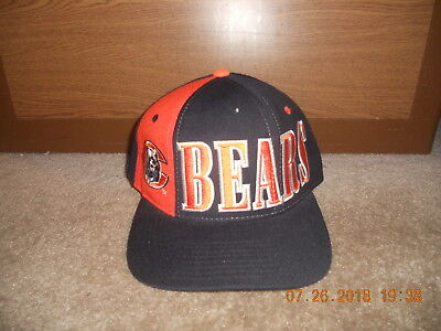Vintage Chicago Bears NFL Hat Cap Starter ProLine Snapback Old School Style  Wool 4a2ab2055