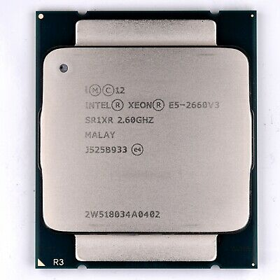 Intel Xeon E5 2660 V3 2.6GHz CPU SR1XR