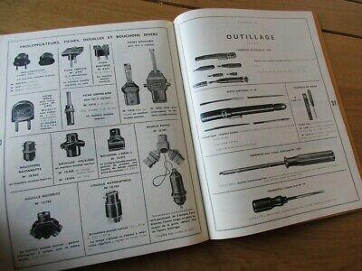 Catalogue Heliorel Pieces Pour Tsf Radio Antenne Outillage 1937 Tbe